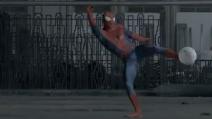 "Ecco lo spot di ""The Amazing spider man 2"" con Iniesta, Arbeloa, Diego López e Valdés"
