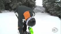 Sochi, lo sciatore che viene dal paese dove non nevica mai