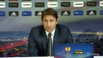 """Juve in Europa League, Conte: """"Concentrati per raggiungere l'obiettivo"""""""