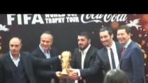 La Coppa del Mondo arriva a Roma