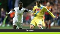 Europa League, Napoli batte lo Swansea e vola agli Ottavi