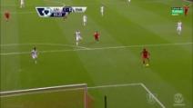 Il gol del vantaggio di Sturridge contro lo Swansea