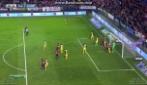 Osasuna-Atletico Madrid, Álvaro Cejudo segna il primo gol della vittoria dei padroni di casa
