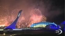 Sochi 2014, fuochi artificiali per salutare i Giochi