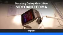 Samsung Galaxy Gear 2 Neo - video anteprima ed hands on