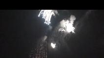 fuochi d'artificio al carnevale di Trezzo D'adda