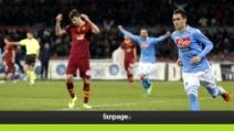 Napoli, Callejon stende la Roma e riapre la corsa al secondo posto