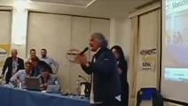 """Grillo: """"Le europee le vinciamo sicuro, non abbiamo concorrenti"""""""