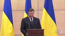 Ucraina, Yanukovich sono l'unico presidente legittimo e tornerò