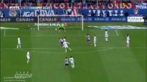 Lo stupendo gol di Gabi contro il Real Madrid
