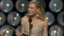 Cate Blanchett è la miglior attrice protagonista agli Oscar 2014
