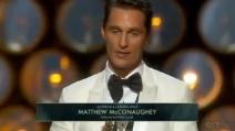 Matthew McCounaghey vince l'Oscar 2014 come Miglior Attore Protagonista