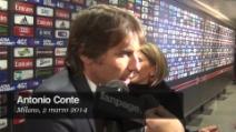 """Antonio Conte: """"Solo una grande Juve poteva vincere con questo Milan!"""""""