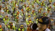 Carnevale 2014, il Brasile lo dedica ai Mondiali di Calcio
