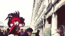 Il Carnevale di Venezia 2014 rovinato dall'acqua alta