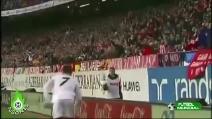Il raccattapalle che prende in giro Cristiano Ronaldo
