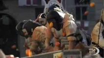 Carnevale, a Ivrea si rinnova tradizionale battaglia delle arance