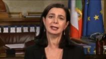 """Boldrini: """"Metà del parlamento dev'essere di donne"""""""