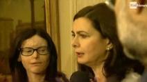 """Boldrini accoglie al quirinale Lucia Annibali: """"la violenza sulle donne è un affare di Stato"""""""