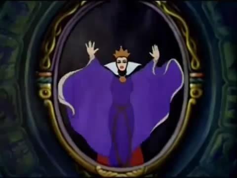Biancaneve e i sette nani clip specchio servo delle mie - Specchio di biancaneve ...