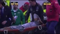 Il grave infortunio a Helton del Porto