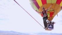 In equilibrio a 1200 metri d'altezza, il nuovo record mondiale