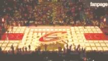 NBA, fantastica proiezione in 3D sul campo dei Cleveland