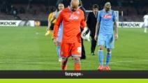Napoli fuori dall'Europa League, tifosi delusi