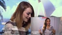 Emma Stone in lacrime per un messaggio di Mel B
