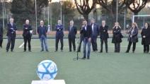 Torneo di calcio della polizia per promuovere legalità e valori