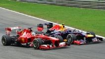 Gp Italia 2013 - Alonso supera Webber, spettacolo puro a Monza