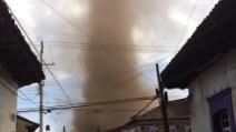 Messico, il tornado che spazza via tutto