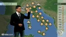Previsioni meteo per giovedì, 3 aprile