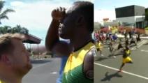 """Usain Bolt """"sfidato"""" sui 100 metri da due personaggi d'eccezione"""