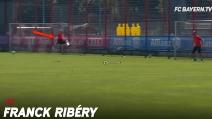 """Spettacolare Ribery, la sua """"sforbiciata"""" è perfetta"""