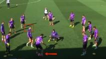 Il figlio di Zidane impressiona in allenamento: finta sotto gli occhi di Cristiano Ronaldo