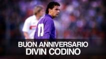 Il 21 settembre 1986 Roberto Baggio fece il suo esordio in Serie A