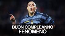 Ronaldo compie 40 anni: buon compleanno Fenomeno!