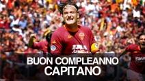 I primi 40 anni di Francesco Totti