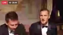 """Totti: """"Due sono stati i momenti più emozionanti della mia carriera"""""""