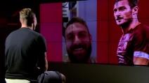"""La reazione di Totti agli auguri di De Rossi: """"Il nostro segreto è un gruppo unito"""""""