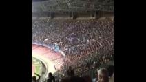 """Napoli-Benfica, il ruggito """"The Champions"""" sulle note dell'inno Champions"""