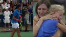 Donna perde la figlia sugli spalti: Nadal sospende il match