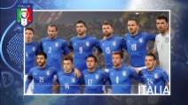 L'Italia di Conte in Francia senza stelle