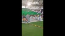 Finale Coppa Italia, la bellissima coreografia dei tifosi della Juve