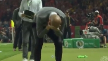 Pep Guardiola vince la Coppa di Germania e saluta il Bayern in lacrime