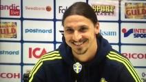 """""""Confermi l'offerta del Manchester United?"""", Ibra è un campione anche nelle risposte"""