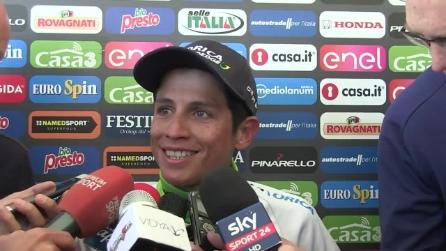 Nibali vince il Giro d'Italia: la reazione di Chaves è meravigliosa