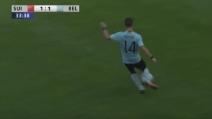 Il Belgio vince contro la Svizzera: assist perfetto di Mertens per Lukaku