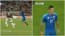Marek Hamsik segna una rete fantastica contro la Germania